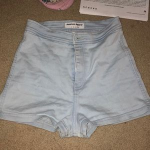 Pants - high wasted american apparel shorts